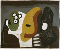 Pablo Picasso, Le table du musicien, 1924